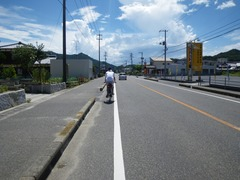 街中を走る