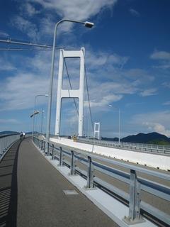 来島海峡大橋再び