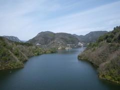 弥栄湖の眺め