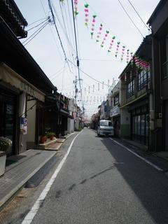 瀬戸田の商店街