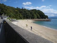 観音崎の浜