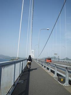再び来島海峡大橋