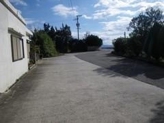 岡村島の道路