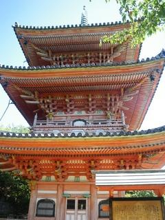 向上寺三重塔