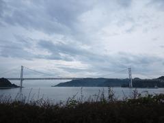 向島から因島大橋