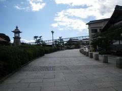上蒲刈島の石畳