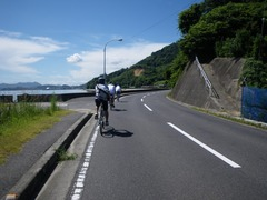 大三島を走る