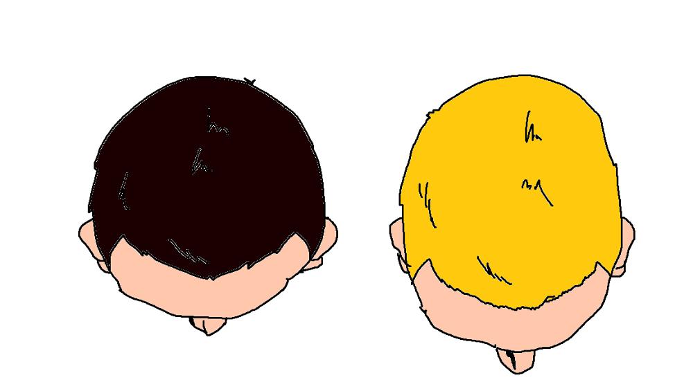 日本人と欧米人