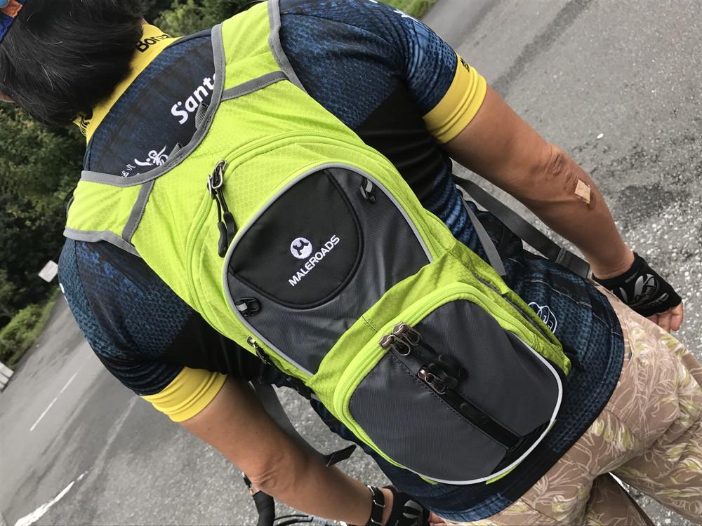 f2efaf009178 日帰りツーリングに最高だと思う MALEROADS の小型サイクリングバッグ(10-12L)のレビュー