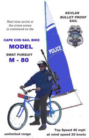 風力自転車