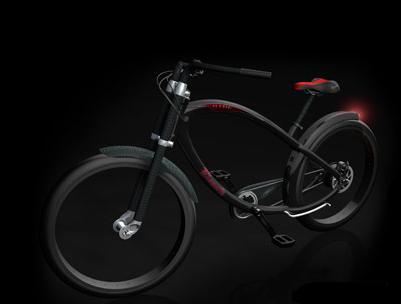 世界初の無段変速自転車