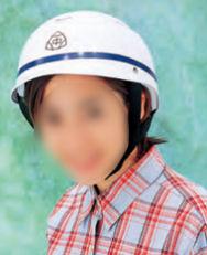 いわゆる通学用の「安全ヘルメット」
