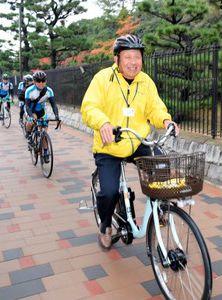 自転車で周遊