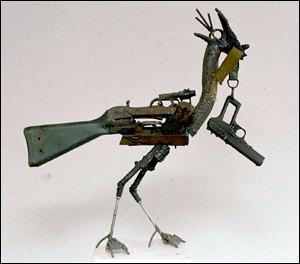 武器を回収する手段