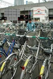放置自転車を利用したレンタサイクル事業