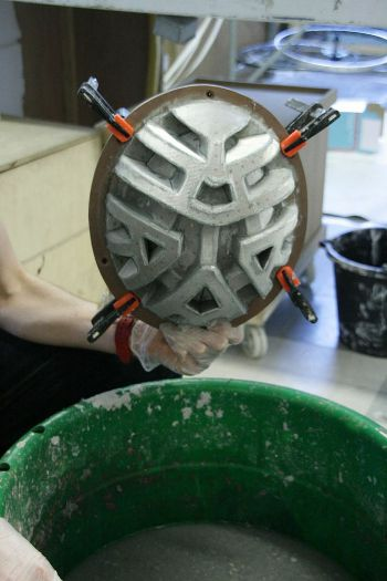 The Paper pulp moulded helmet