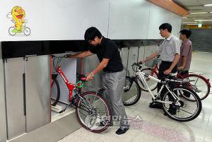 ソウル地下鉄に自転車専用車両、10月からテスト