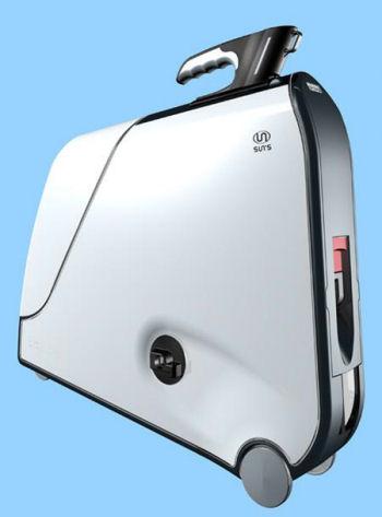 スーツケース型自転車