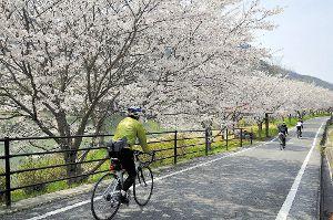 自転車で岡山満喫