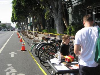 自転車預かりサービス