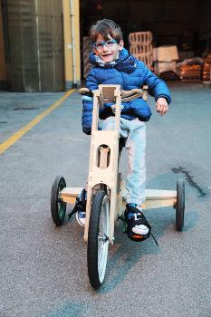 la bici di lorenzo