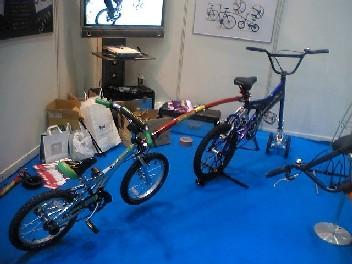 子供用自転車と連結も