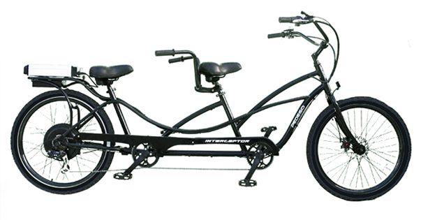 Classic Tandem Electric Bike, www.pedegoelectricbikes.com