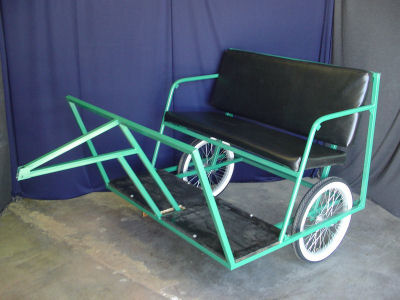 Pedicab trailer