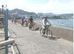 自転車で観光振興