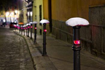 自転車の 自転車 サドルカバー 手作り : Manifestación nocturna de bicicletas, www ...