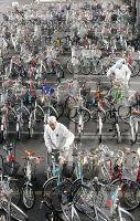 保管自転車、常に満杯