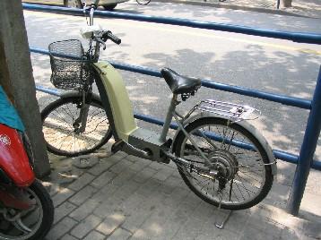 電動モーター自転車