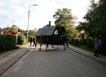WALKING HOUSE, www.n55.dk