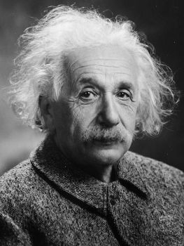 Albert Einstein,This image is in the public domain.
