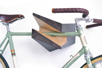 Wooden Bike Hanger