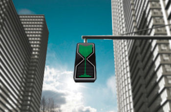 Sand Glass LED Traffic Lights, www.yankodesign.com