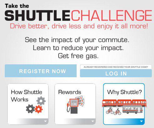 Shuttle Challenge, www.shuttlechallenge.ca