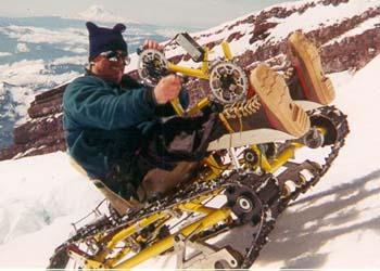 登山用ハンドサイクル