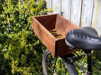 Wooden bike basket, www.etsy.com