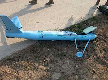 北朝鮮の無人機?