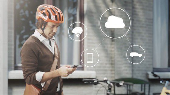 cycling tech concept