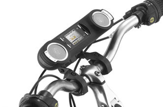 Tommyca Portable bicycle multi-functional audio player