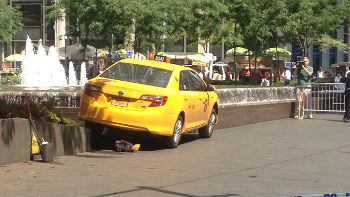New York City cyclist hit by cab driver, www.foxnews.com