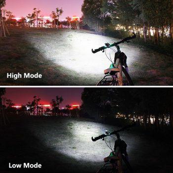 サイクルヘッドライト