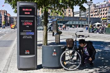 Bicyclists Count in Copenhagen