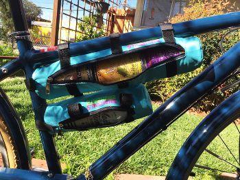 STASHERS Bike Tube Cooler & Storage System
