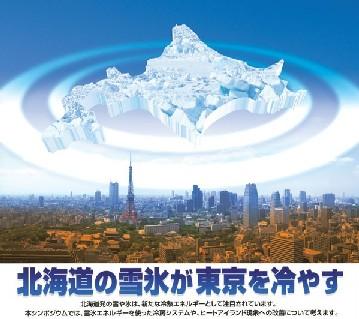 北海道が東京を冷やす
