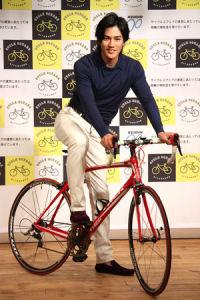 100万円の愛用自転車