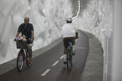 El viejo túnel es el nuevo bidegorri, www.diariovasco.com