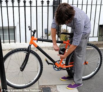 曲がる自転車, www.dailymail.co.uk/